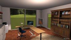 Raumgestaltung Andreas Arbeitszimmer in der Kategorie Arbeitszimmer
