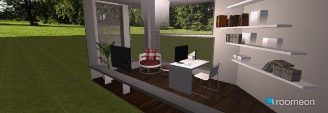 Raumgestaltung arbeit in der Kategorie Arbeitszimmer