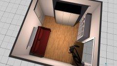 Raumgestaltung Arbeits-Gästezimmer in der Kategorie Arbeitszimmer