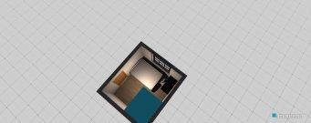 Raumgestaltung Arbeits-,Gästezimmer in der Kategorie Arbeitszimmer