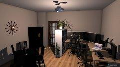 Raumgestaltung Arbeits und Esszimmer in der Kategorie Arbeitszimmer