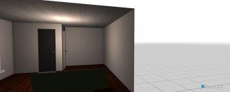 Raumgestaltung Arbeits- und Gästezimmer in der Kategorie Arbeitszimmer