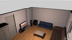 Raumgestaltung arbeits- und wohnzimmer yak in der Kategorie Arbeitszimmer