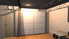 Raumgestaltung Arbeitsgästezimmer in der Kategorie Arbeitszimmer