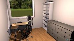 Raumgestaltung Arbeitsraum in der Kategorie Arbeitszimmer
