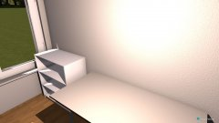 Raumgestaltung Arbeitszimmer 01 in der Kategorie Arbeitszimmer