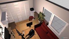 Raumgestaltung Arbeitszimmer 04 in der Kategorie Arbeitszimmer