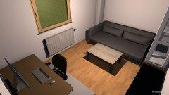 Raumgestaltung Arbeitszimmer 1. Entwurf in der Kategorie Arbeitszimmer