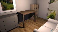 Raumgestaltung Arbeitszimmer 1 in der Kategorie Arbeitszimmer