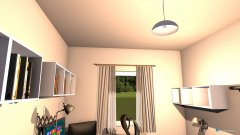 Raumgestaltung Arbeitszimmer 2 in der Kategorie Arbeitszimmer