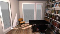 Raumgestaltung Arbeitszimmer Dani in der Kategorie Arbeitszimmer