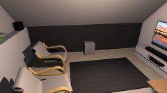 Raumgestaltung Arbeitszimmer DW127.4 in der Kategorie Arbeitszimmer