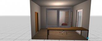 Raumgestaltung Arbeitszimmer Gatow in der Kategorie Arbeitszimmer