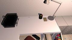 Raumgestaltung Arbeitszimmer Hansa in der Kategorie Arbeitszimmer