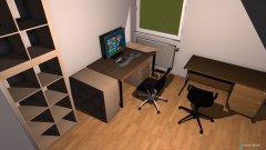 Raumgestaltung Arbeitszimmer Karl-Friedrich in der Kategorie Arbeitszimmer