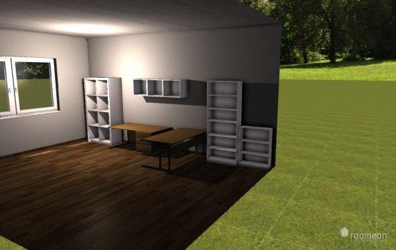 Raumgestaltung Arbeitszimmer Manuel in der Kategorie Arbeitszimmer