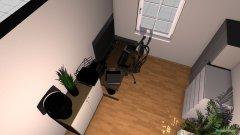 Raumgestaltung Arbeitszimmer Sabine in der Kategorie Arbeitszimmer