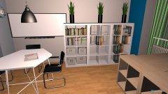 Raumgestaltung Arbeitszimmer T & T in der Kategorie Arbeitszimmer