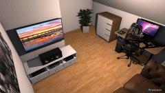 Raumgestaltung arbeitszimmer :) - variante 2 in der Kategorie Arbeitszimmer