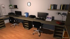 Raumgestaltung Arbeitszimmer Version 2 in der Kategorie Arbeitszimmer