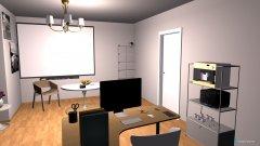 Raumgestaltung Arbeitszimmer Zoë & Elin in der Kategorie Arbeitszimmer