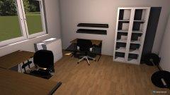 Raumgestaltung Arbeitszimmer222 in der Kategorie Arbeitszimmer