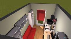 Raumgestaltung Arbeitszimmer6 in der Kategorie Arbeitszimmer