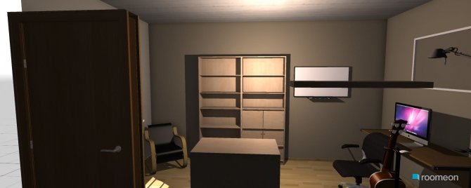 Raumgestaltung arbeitszimmer in der Kategorie Arbeitszimmer