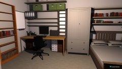Raumgestaltung Arbeitszimmer_eingerichtet2 in der Kategorie Arbeitszimmer