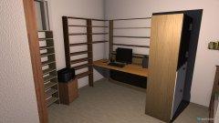 Raumgestaltung Arbeitszimmer_eingerichtet in der Kategorie Arbeitszimmer