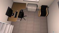 Raumgestaltung arbeitszimmer_ohne 2 pc in der Kategorie Arbeitszimmer