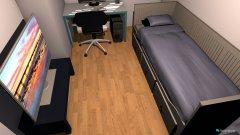 Raumgestaltung ArbeitszimmerV2 in der Kategorie Arbeitszimmer