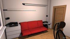 Raumgestaltung Arbeitzimmer in der Kategorie Arbeitszimmer