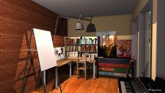 Raumgestaltung Art Cabin in der Kategorie Arbeitszimmer