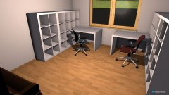 Raumgestaltung Ast_Arbeitszimmer_1 in der Kategorie Arbeitszimmer