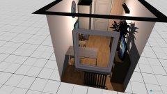 Raumgestaltung Aufenthaltsraum plus PC in der Kategorie Arbeitszimmer