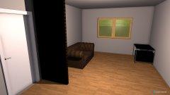 Raumgestaltung Autozimmer in der Kategorie Arbeitszimmer