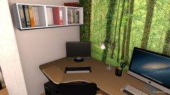 Raumgestaltung AW_25_AZ_1 in der Kategorie Arbeitszimmer
