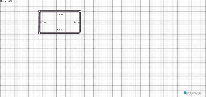 Raumgestaltung AZ1 in der Kategorie Arbeitszimmer