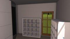 Raumgestaltung Bastelz in der Kategorie Arbeitszimmer