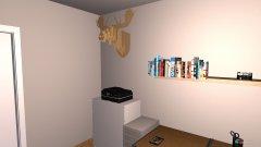 Raumgestaltung Bastelzimmer in der Kategorie Arbeitszimmer