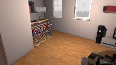 Raumgestaltung Bea Ebtwurf mit evtl falschem Mass in der Kategorie Arbeitszimmer