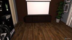 Raumgestaltung Beamer und Arbeitszimmer in der Kategorie Arbeitszimmer