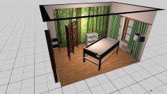 Raumgestaltung Behandlungsraum in der Kategorie Arbeitszimmer