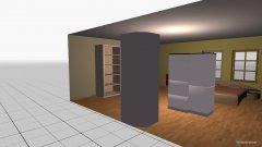 Raumgestaltung Beispiel in der Kategorie Arbeitszimmer
