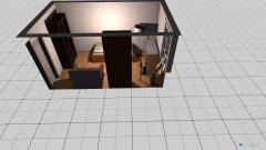 Raumgestaltung Bernerstr. 80 - 4_Arbeits-Gästezimmer in der Kategorie Arbeitszimmer