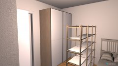 Raumgestaltung bernyzimmer in der Kategorie Arbeitszimmer