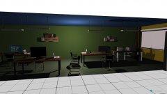 Raumgestaltung Bewerbungsraum in der Kategorie Arbeitszimmer