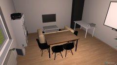 Raumgestaltung Birkenstraße - Living-Office in der Kategorie Arbeitszimmer