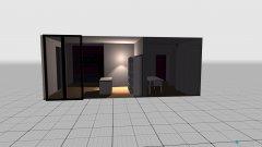 Raumgestaltung BIURO+SOCJALNE in der Kategorie Arbeitszimmer